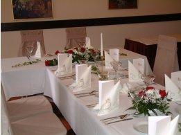 Hochzeitstafel - Frontseite 2 Personen