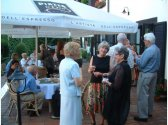 Firmenrezeption - Restaurant und Sommergarten/Terrase