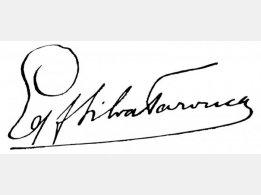 Grafsunterschrift