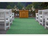 Hochzeitszeremonie im Schloss Pruhonice - Schlosshof