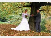 Romantische Fotos aus Park