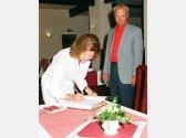 Schwedisches Königspaar - Carl XVI. Gustaf a Silvia