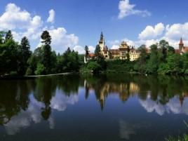 Pruhonice - Schloss mit wunderschönem Park (UNESCO geschützt)