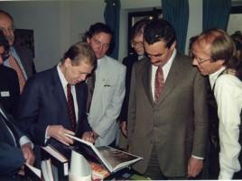 Václav Havel und Karel Schwarzenberg