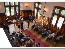 Hochzeitszeremonie im Schloss - Rytířský sál