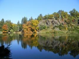 Park Průhonice - Teich Bořín