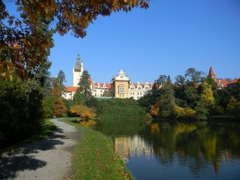 Pruhonice - Park und Schloss